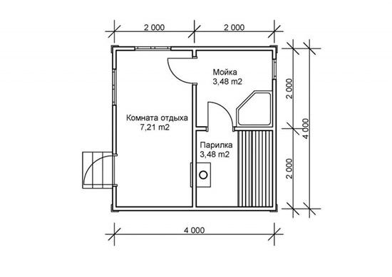 Как построить баню своими руками дешево из кирпича 15